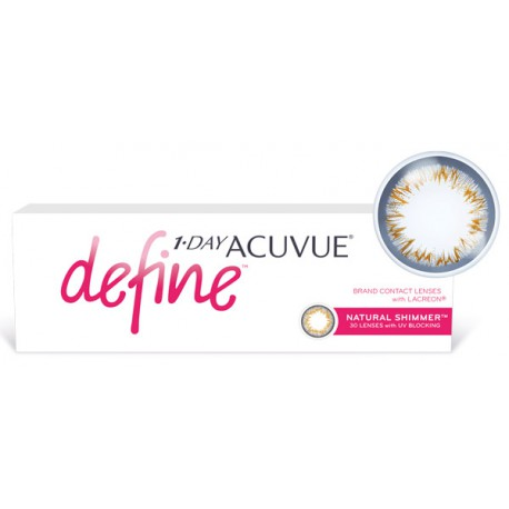1-Day Acuvue Define (Natural Shimmer 30 блистеров)