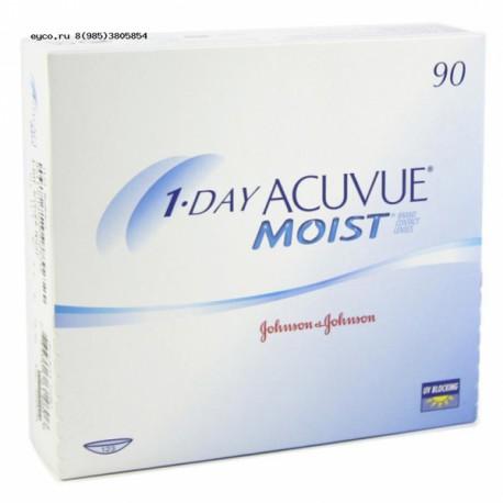 1-Day Acuvue Moist (90 блистеров)