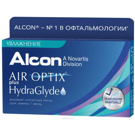 Air Optix® plus HydraGlyde (3 блистера)